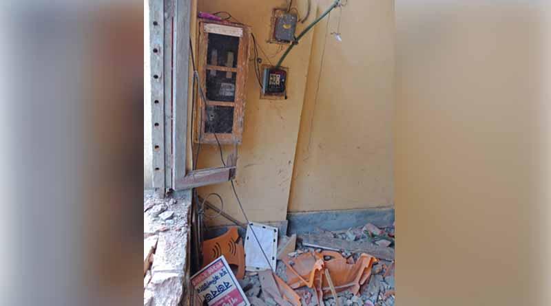 Diamond Harbour: BJP party office ransack