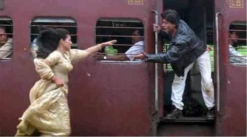 Kajol remembers DDLJ's 'chaotic' train scene shooting
