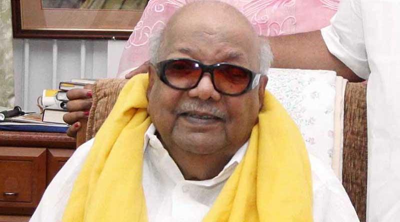 The journey of M Karunanidhi