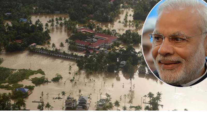 Modi assures  more assistant for Kerala Flood situation