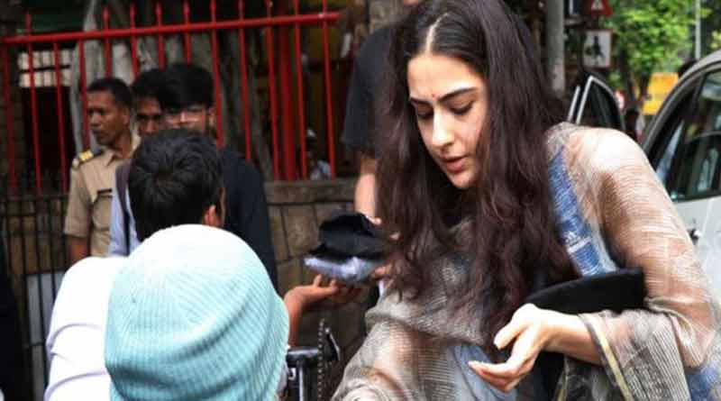 Sara Ali Khan requests paparazzi to not click her, viral video