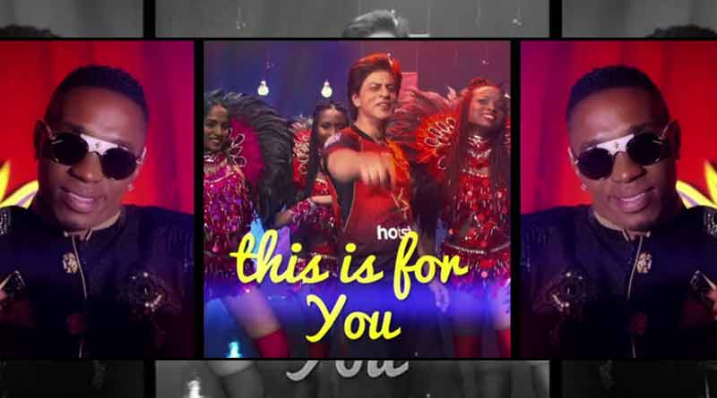 Shah Rukh Khan, Dwayne Bravo launch new song for TKR