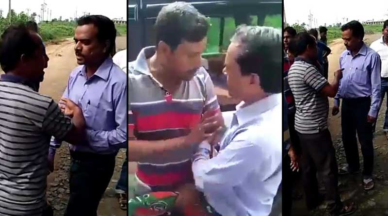 TMC MLA Attacked by BJP, Complaint against the Bjp leader