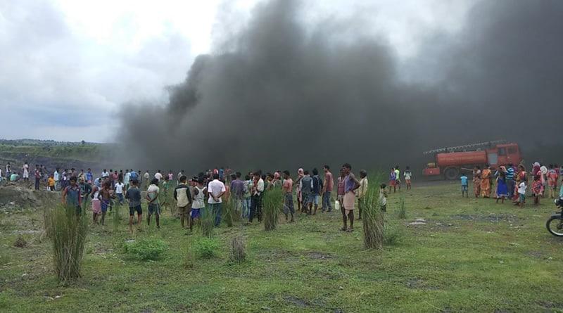 Fire breaks out in Asansol coal mine