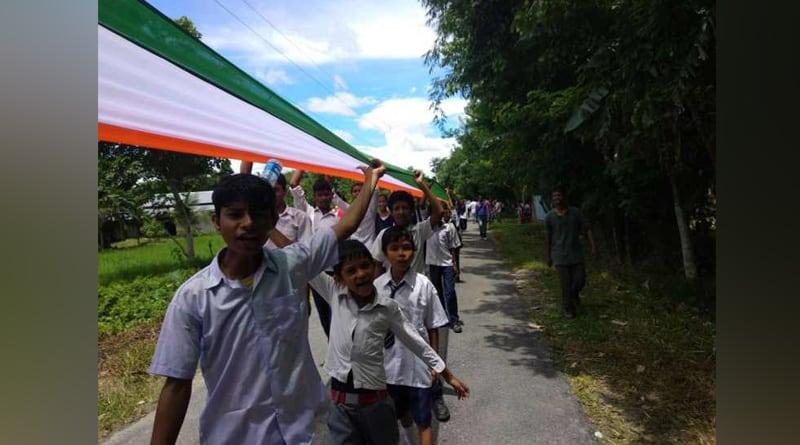Longest Indian flag unfurled in Assam