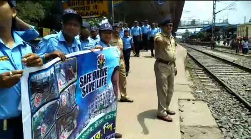 Bongaon GRP launches safety awareness campaign