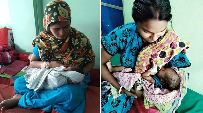 Several thousand children of healthy-hearted Uluberia are drinking breastmilk