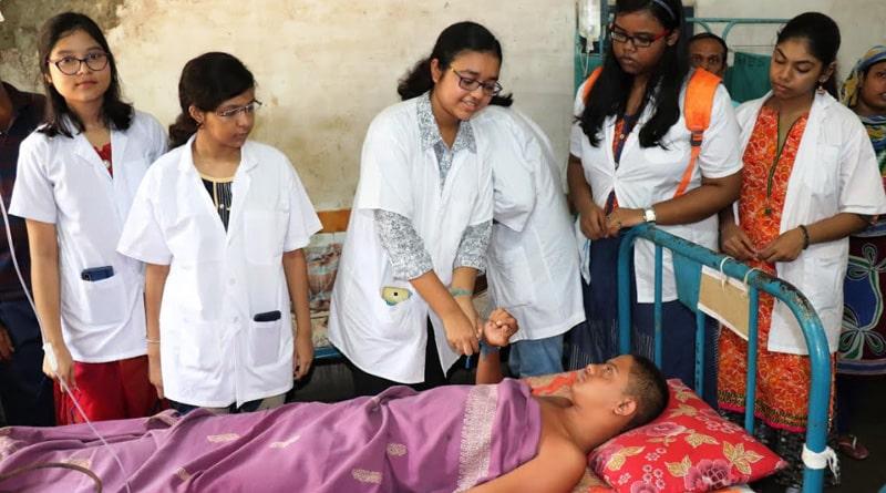 Raksha Bandhan Ceremony in Burdwan hospital