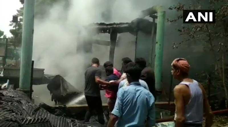 Fire Breaks Out At Doordarshan Bhawan In Delhi