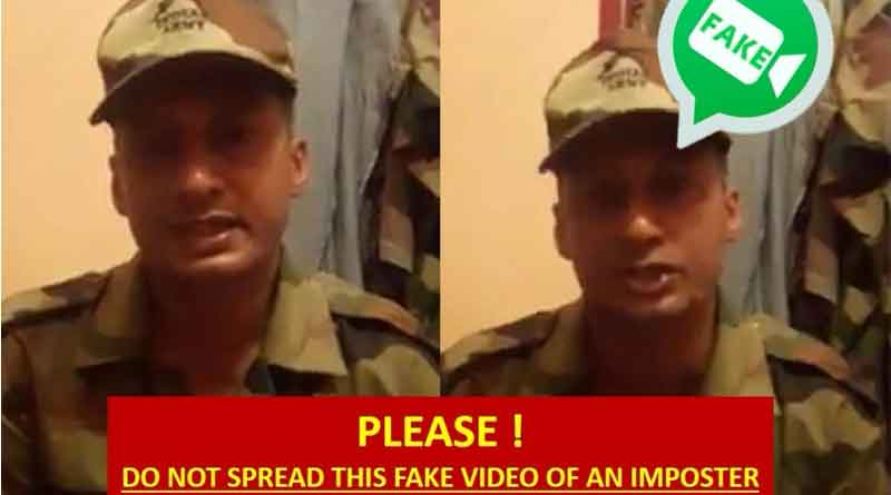Indian army warns about Kerala flood fake video
