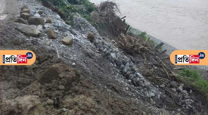 Landslide hits Siliguri-Kalimpong road