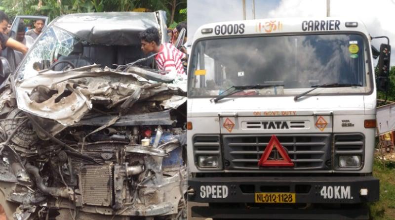 Road mishap in Bagnan, 5 dead