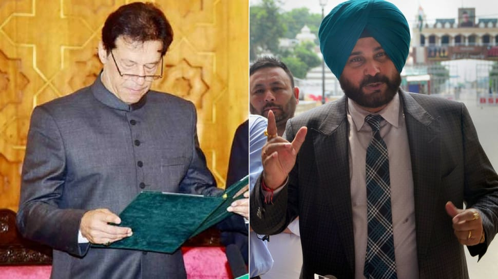 Imran Khan backs Navjot Singh Sidhu over Pak visit