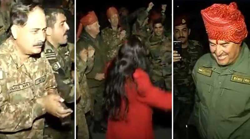 India, Pak soldiers dance together to Bollywood songs in Russia