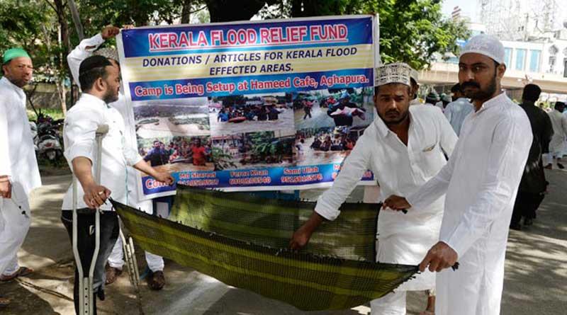 Kerala Mosque shelters Hindu flood victims