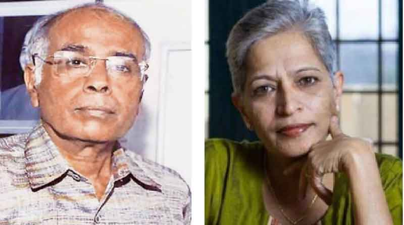 Dabholkar, Gauri Lankesh murders linked: CBI tells court