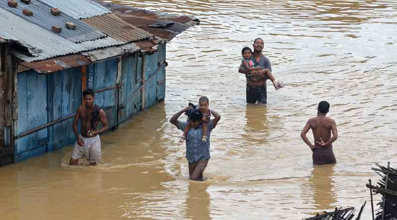 NDRF Teams sent to Flood Relief In Nagaland