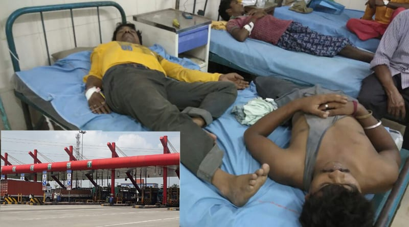 Toll employees thrash bus driver, passengers in Durgapur