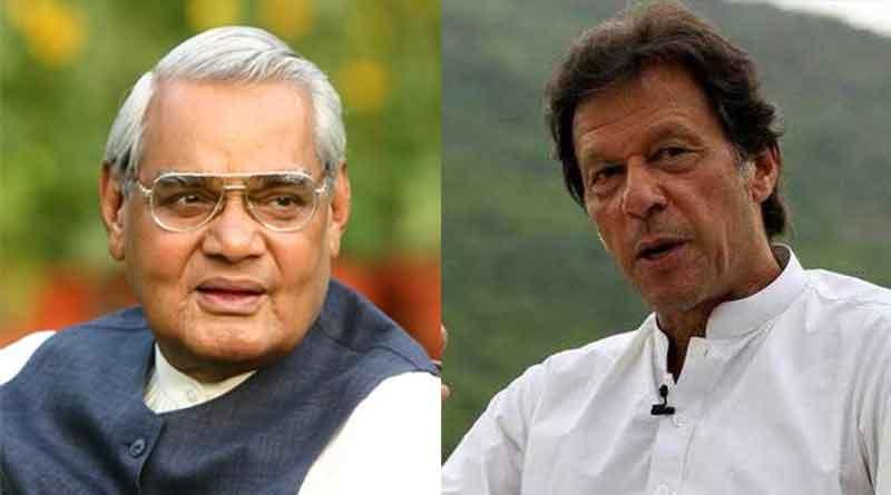 India-Pakistan peace is tribute to Atal Bihari Vajpayee: Imran Khan
