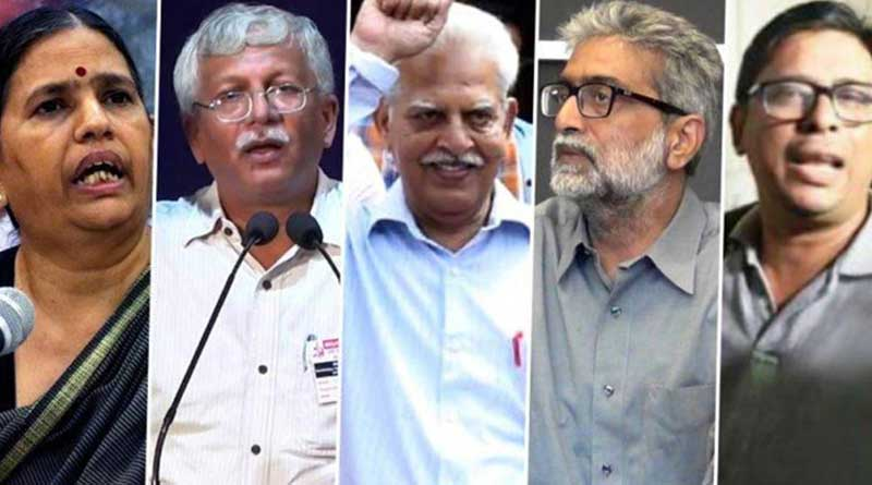 Supreme Court extends house arrest for four weeks of five activists in Bhima-Koregaon case