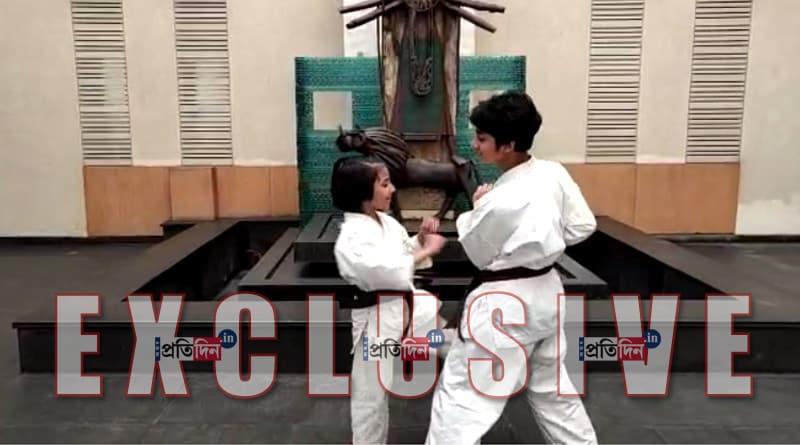 7-yr-old N 24 Parganas girl gets karate black-belt