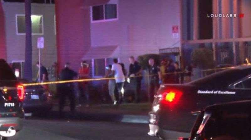 Ten shot at apartment complex in California, 3 critical