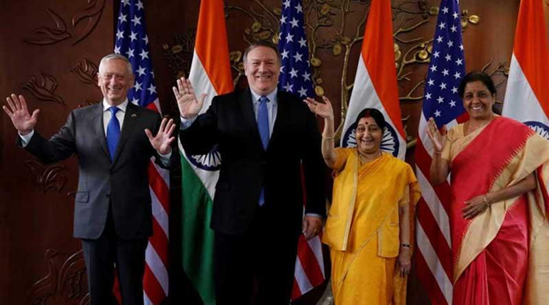 India-US 2+2 meeting in New Delhi