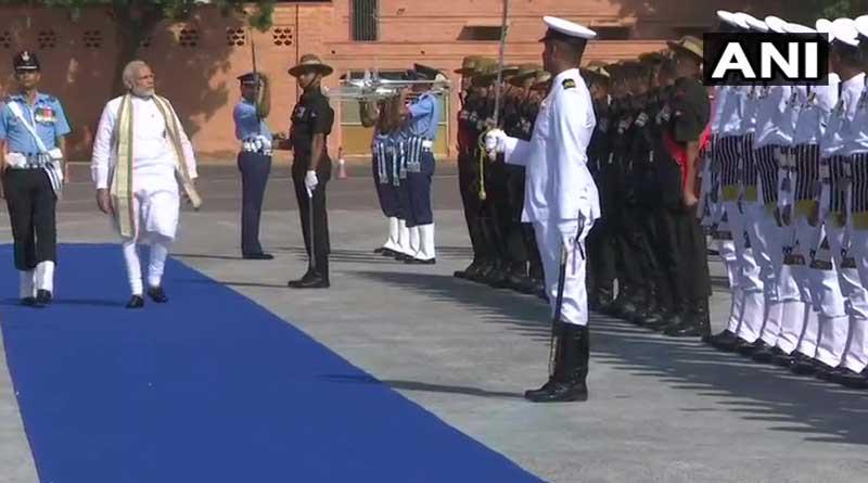 Prime Minister Narendra Modi inaugurated Army exhibition 'Parakram Parv' at Jodhpur Military Station