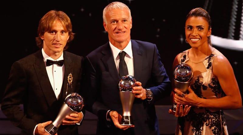 Croatia's Luka Modric named The Best FIFA men's player of the year