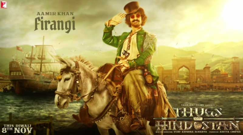 Released motion poster to reveal Aamir Khan's look in Thugs of Hindostan