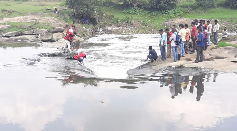 Asansol: Youth drowned while taking selfie