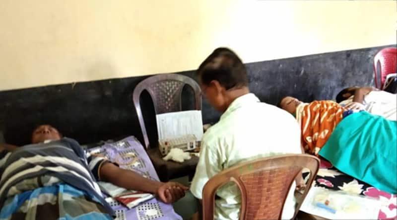 Katwa: blood donation camp on Muharram