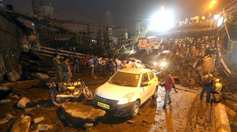 Govt mulls level crossing at Majerhat bridge collapse site