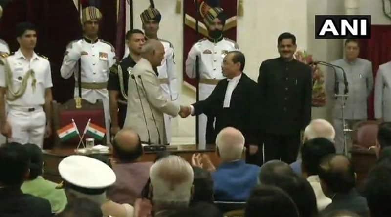 Ranjan Gogoi takes charge as CJI