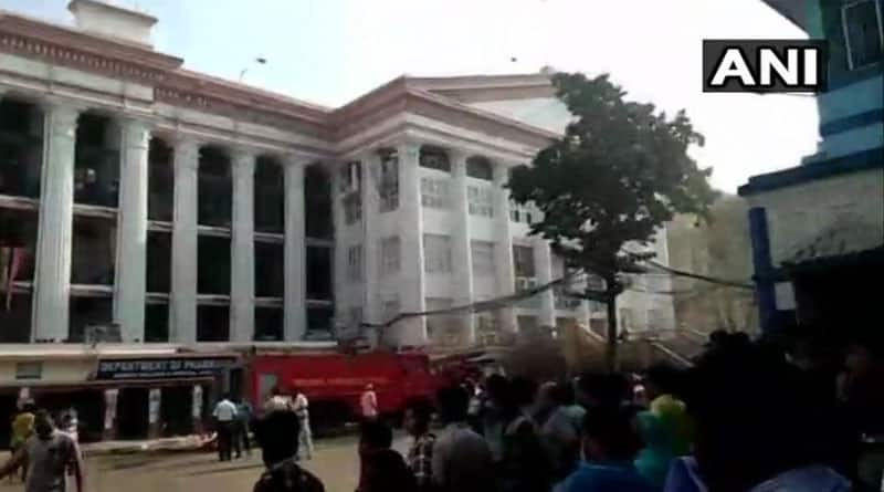 Patients get treatment by sticker in Calcutta Medical College