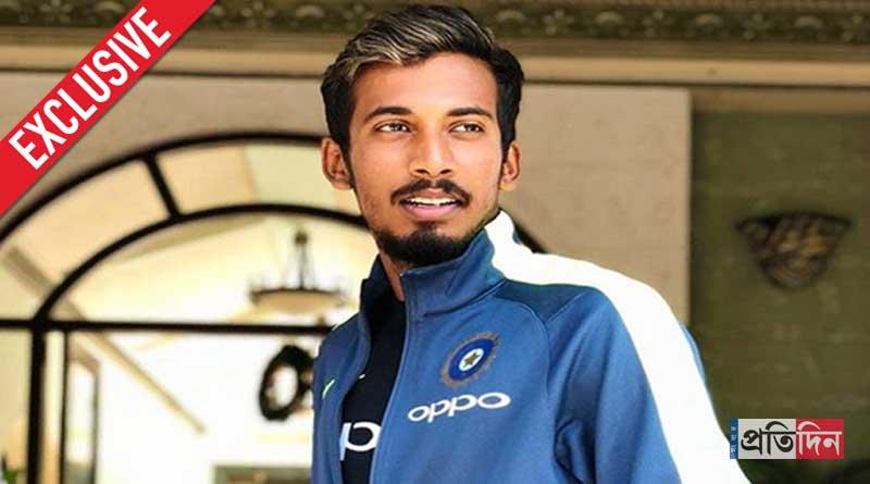 Cricketer Ishan Porel describes how he celebrates Durga Pujo