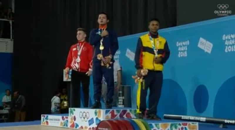 Mizo weightlifter Lalrinnunga bags India's first Youth Olympics gold