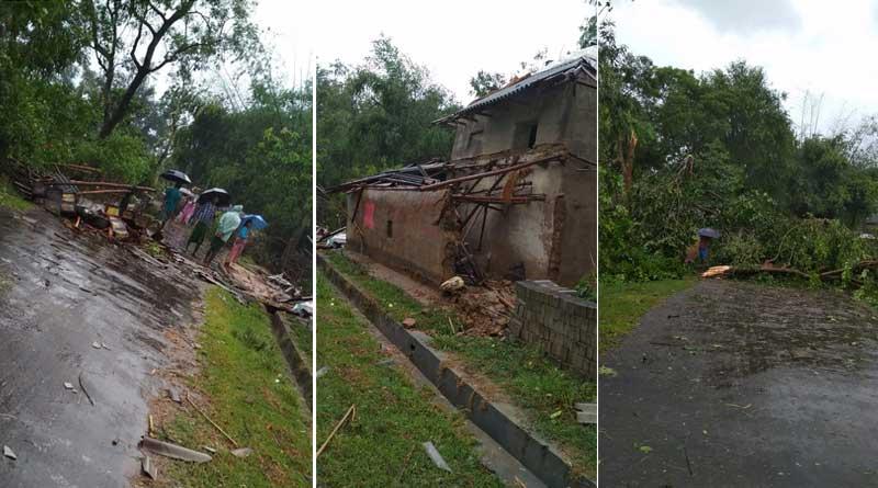 Titli affect: Heavy rain in Jhargram, Kharagpur