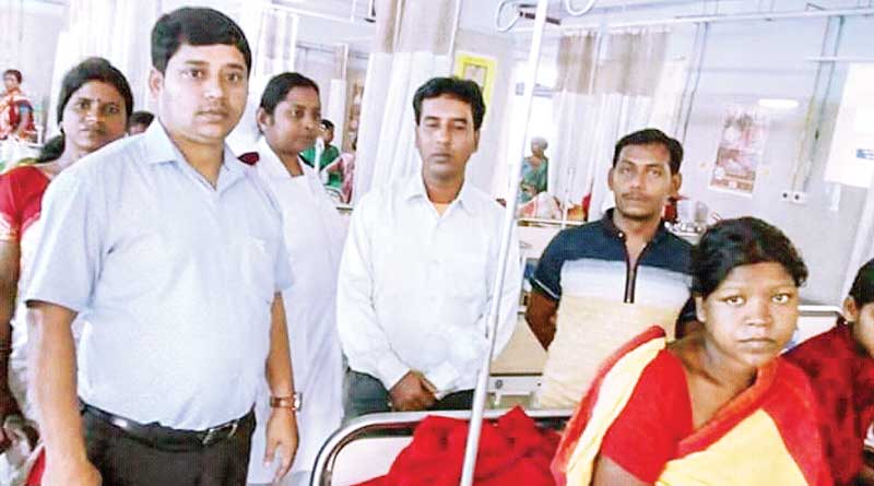 Kalna hospital arrange blood for patient