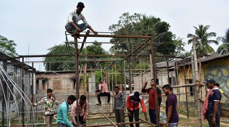 Kali Pujo 2018: Jhargram's Keshabdihi's Pandal to made by glass