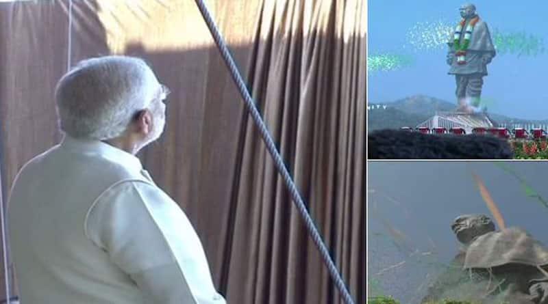 PM Modi inaugurates statue if Unity, pays homage to 'Ironman'