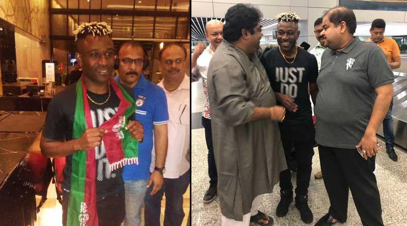 Mohun Bagan star Sony Norde has arrived in Kolkata at mid-night