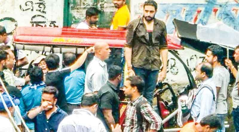 Abhishek Bachchan starts shooting for Life in a Metro 2