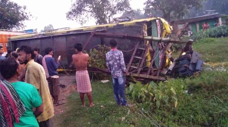 One died in road accident