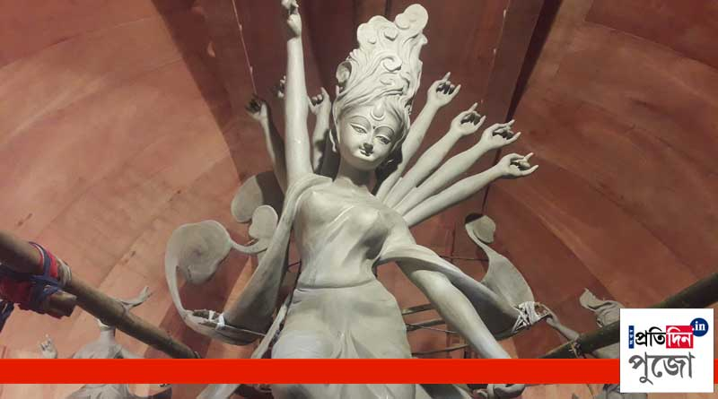 Pujo 2018: theme of Haridebpur Ajeyo Sanghati is air