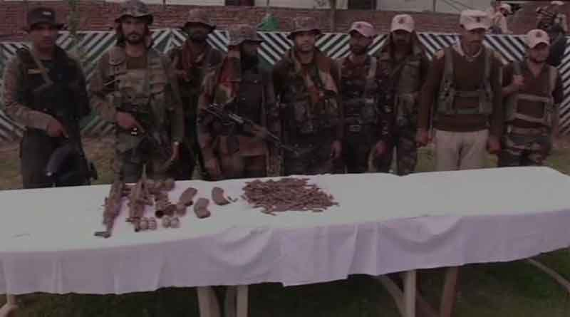 Terror hideout busted by Indian Army