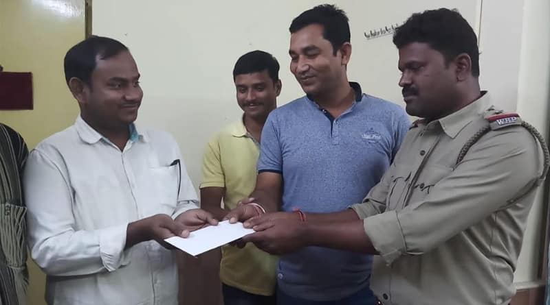 Businessman gets money for police in Bangaon