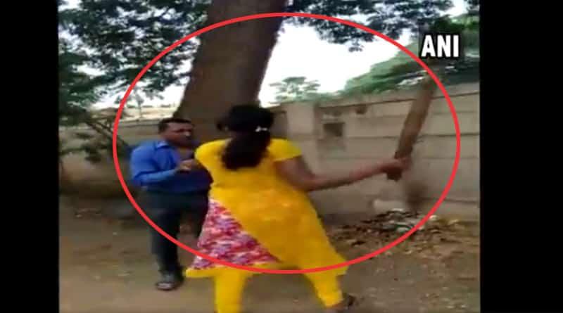 Karnataka: Woman thrashes banker for seeking sexual favour against loan