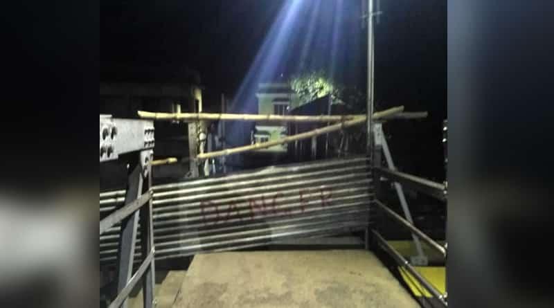 Foot over-bridge closed in Suri rail station