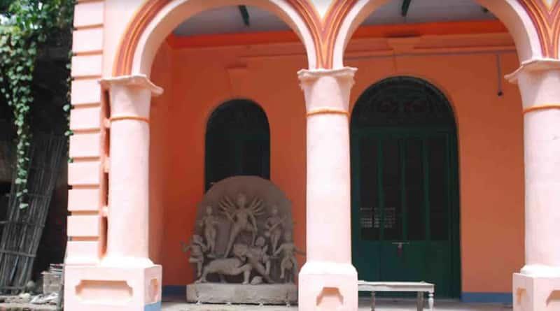 Interesting fact about Gobardanga Rajbari Puja